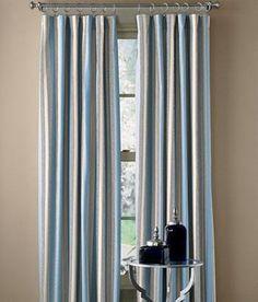 Camden Stripe Lined Rod Pocket Curtains $89.95 - $129.95