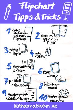Simply make flipcharts successful? I'll show you 10 tips and tricks on how to do your flipcharts well. Lettering Guide, Script Lettering, Lettering Tutorial, Education Logo, Music Education, Workshop, Sketch Notes, Fun Hobbies, Coaching