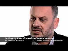 Tim Flannery's bizarre, unscientific & globalist rant
