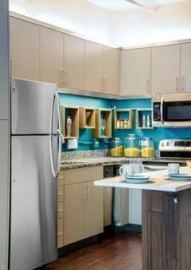 25 Best Small Kitchen Makeovers Ideas Home Decoration Small Kitchen Makeovers, Small Kitchen Layouts, Small Space Kitchen, Small Spaces, Long Kitchen, Narrow Kitchen, Simple Kitchen Design, Best Kitchen Designs, Ikea