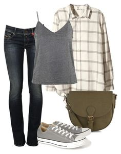 """""""I can't stand it"""" by deliag ❤ liked on Polyvore featuring Replay, H&M, Converse and Topshop"""