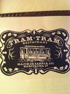 Tram-Tram en Barcelona, Restaurant with good terrace