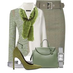 Contest: Tweed skirts for Fall by suzyk68 on Polyvore featuring Baja East, Stuart Weitzman, Kate Spade Saturday, Timex and Charriol