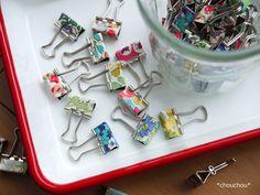 ダブルクリップ リバティ 40個 Plastic Cutting Board, Sewing Projects, Crafts, Handmade, Atelier, Manualidades, Craft, Handmade Crafts, Diy Crafts