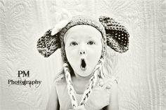 Baby Elephant Hat / 0 to 3 Months / Photo Prop by MeganFallow, $25.00