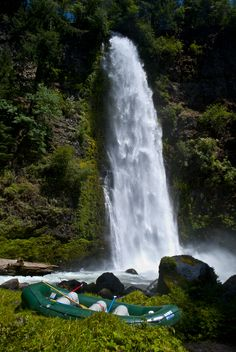 Mill Creek Falls, Oregon.  I haven't actually been to this particular waterfall, but I want to now, and Oregon has so many gorgeous waterfalls.