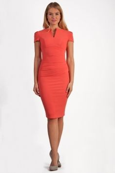 Lydia Cap Sleeved Dress
