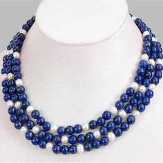Designer Lapis Lazuli Necklace