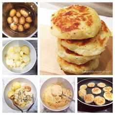 """""""EASY Hearty Mashed Potato Patties [8m+] I'd give these to my son as a finger food and are ideal for self-feeding (BLW) as they're soft textured inside. -…"""""""