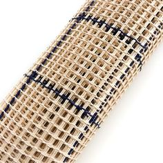 High quality carpet canvas fabric 10 Count, made in Germany. DMC interlock canvas with 13 holes per 10 cm (about 3,3 per inch). Use it to make a gigantic cross stitch or knot your own carpet. This fabric is made in Germany Color: White with blue lines Fabric: 100% Cotton  Contact us if you