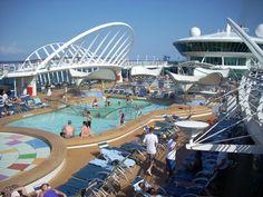 Main Pool Aruba Cruise, Enchantment Of The Seas, Southern Caribbean Cruise, Freedom Of The Seas, Harbor Town, Bridgetown, Island Tour, Shore Excursions, Sea Fishing