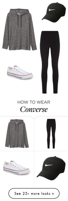 """Untitled"" by dancer0202 on Polyvore featuring Wolford, Gap, Converse and NIKE"