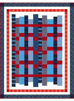 Indo Ikat Quilt - Instructions coming soon