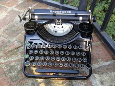 If you could find a working, vintage typewriter... I will do back flippies!
