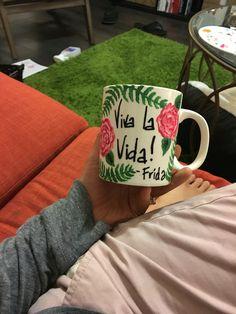 Back of my Frida kahlo mug