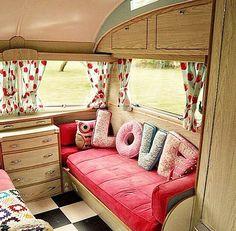 Trailler bedroom