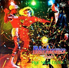 Peter Jacques Band - Fire Night Dance (Vinyl, LP, Album) at Discogs Disco 80, Disco Funk, Detroit Techno, Bad Album, Italo Disco, American Bandstand, The Boogie, Music Album Covers, Music Images
