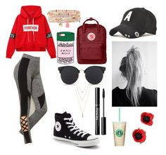 """""""Untitled #15"""" by neearuuska on Polyvore featuring ban.do, Fjällräven, Converse, Jules Smith and Accessorize"""