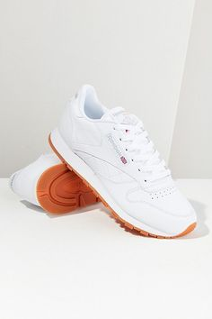 58511fc22f8 Slide View  1  Reebok Classic Leather Sneaker Reebok White Sneakers