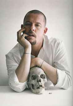Alexander McQueen. Oh, the things I would do to be able to afford his clothing. And live in the Rococo era.