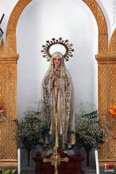 Virgen de Fátima Puerto de Juviley #Alpujarra #Granada