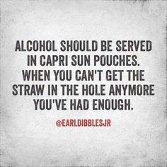 Alcohol #Caprisun