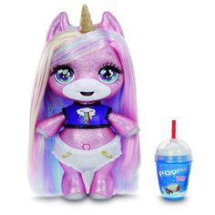 unicorn toy New Poopsie Surprise toys are coming! Poopsie Surprise Animals Unicorn LLamas, new and new Poopisie Surprise purple sparkle Unicorn Unicorn Surprise, Musik Player, Purple Sparkle, Infancy, Baby Alive, Lol Dolls, Toys For Girls, Baby Girl Toys, How To Make Light