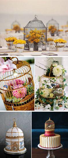 wedding birdcage inspiration