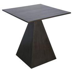 Noir Blain Side Table Pale @Zinc_Door, $624, 24D