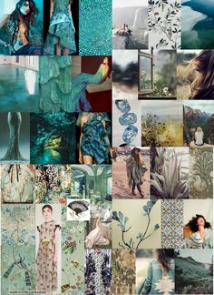 Moodboard made after visiting Fashion Fairs in Berlin and Amsterdam #3