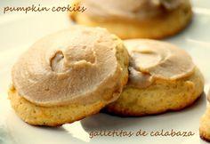 chipa by the dozen: Galletitas de calabaza / Pumpkin cookies