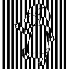 Des animaux en code-barres, à la manière de Vasarely