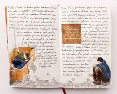 Vielä viimeinen julkaisematon merkintä Tokiosta. #homelessness #tokyo #ikebukuro #illustration #sketchbook #matkapäiväkirja #socialproblems Petra, Cover, Illustration, Books, Instagram, Art, Art Background, Libros, Book