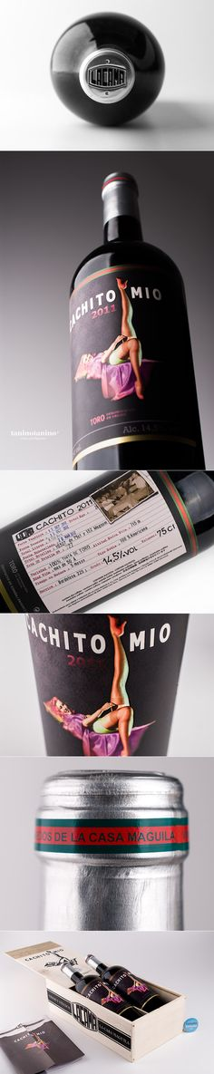CACHITO MIO 2011 CASA MAGUILA - TANINOTANINO VINOS INTELIGENTES. ooh la, la PD