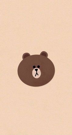 LINE Friends Bear #Line #Friends #Bear #Korea #Korean #app