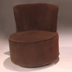 Bernards Round Swivel Accent Chair