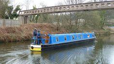 The 'Spirit of Guiding' Below Brookfoot Lock  Brighouse Calder and Hebble Navigation Yorkshire by woodytyke, via Flickr