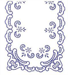 UBRUSY | Ubrus 90x50cm K | Ubrus K 163 | Předtisky na vyšívání - Olga Synková Helga