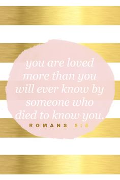 'You are loved' pink gold foil stripes iphone phone wallpaper background lock screen