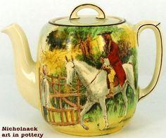 Royal Doulton Sir Roger de Coverley Teapot - unamed shape