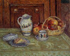radstudies:  Maxime Maufra (French, 1861-1918) Dessert - 1904