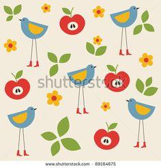 stock-vector-seamless-childlike-pattern-vector-illustration-89164675.jpg (450×470)
