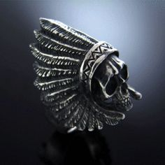 Indian Skull Ring                                                                                                                                                                                 More