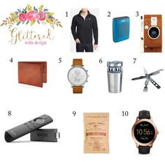 Holiday Gift Guide: For that man in your life  These past three weeks have been so incredibly busy: my dear friends rehearsal dinner and wedding a concert out of town with my mom and then a two week trip to Italy and Paris. My original plan was to write these posts ahead of time but with all of the planning for a rehearsal dinner (more on that later) and then packing for our trip things just got out of hand and time ran out! I had a list of things I really wanted to get done before we left…