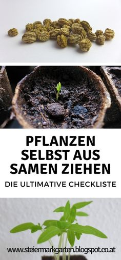 Mit dieser umfassenden Checkliste könnt ihr euren Samen einen idealen Start ins Pflanzenleben ermöglichen.