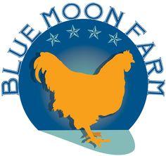 Blue Moon Farm Logo. Design by Drake Creative in Millbrook, NY.