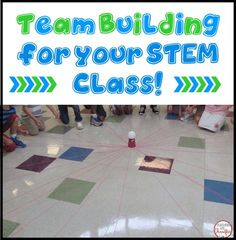 Team Building in your STEM class! Here are some simple things you can do to help build collaboration and teamwork in your classroom!