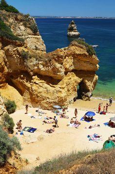 Playas de Lagos en el sur de Portugal, el Algarve. Visita mi página web para ver más fotografías: https://unachicatrotamundos.wordpress.com/2016/07/31/algarve-el-sur-de-portugal/