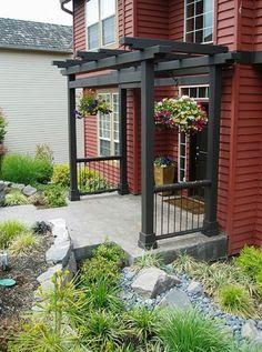 27 Best Front Porch Pergola Images Front Porch Pergola Facades