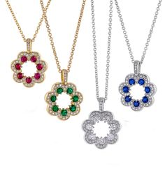 Blooming daisy pendants will brighten any day only from De Hago